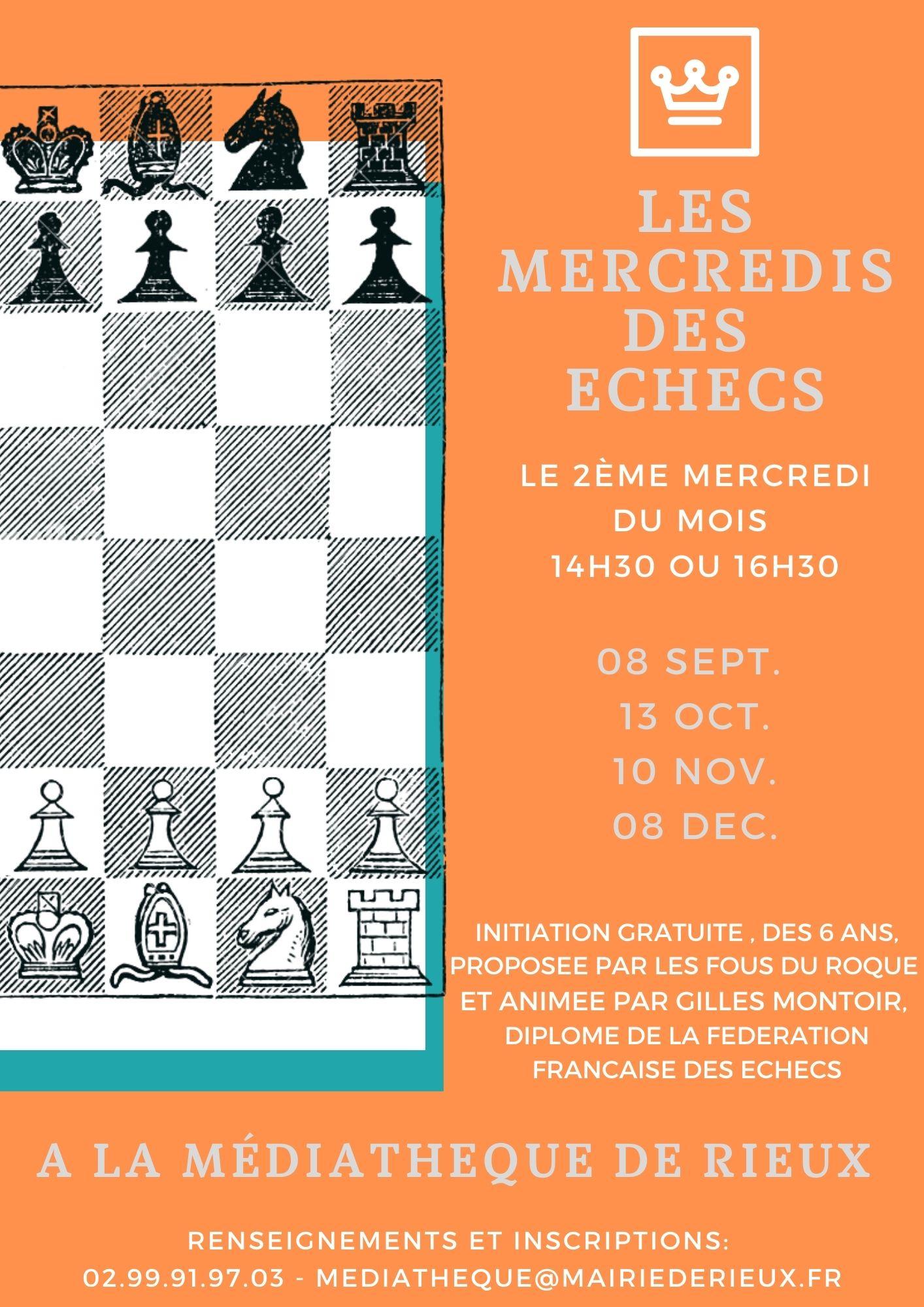 Les mercredis des échecs !