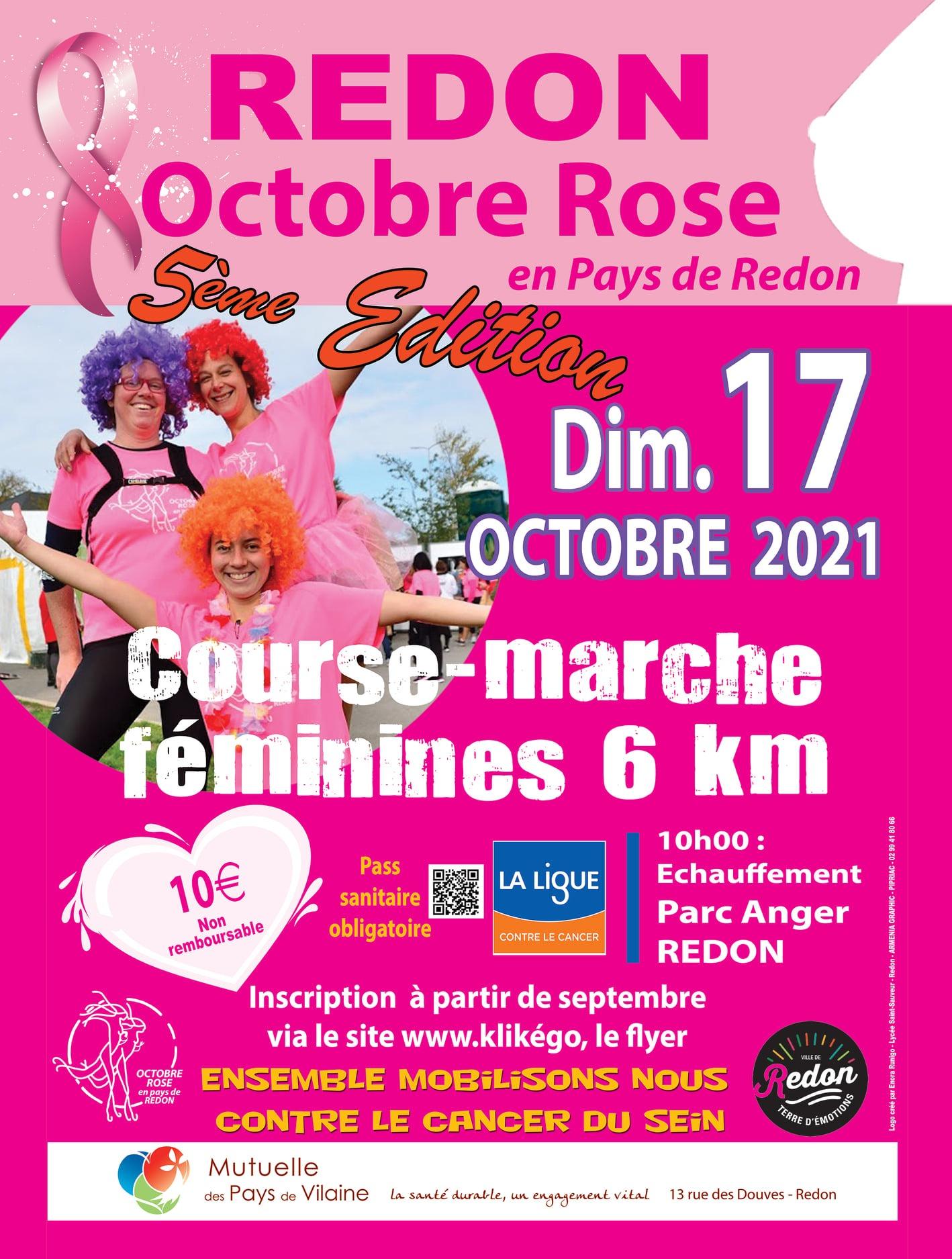 Marche/Course Octobre Rose