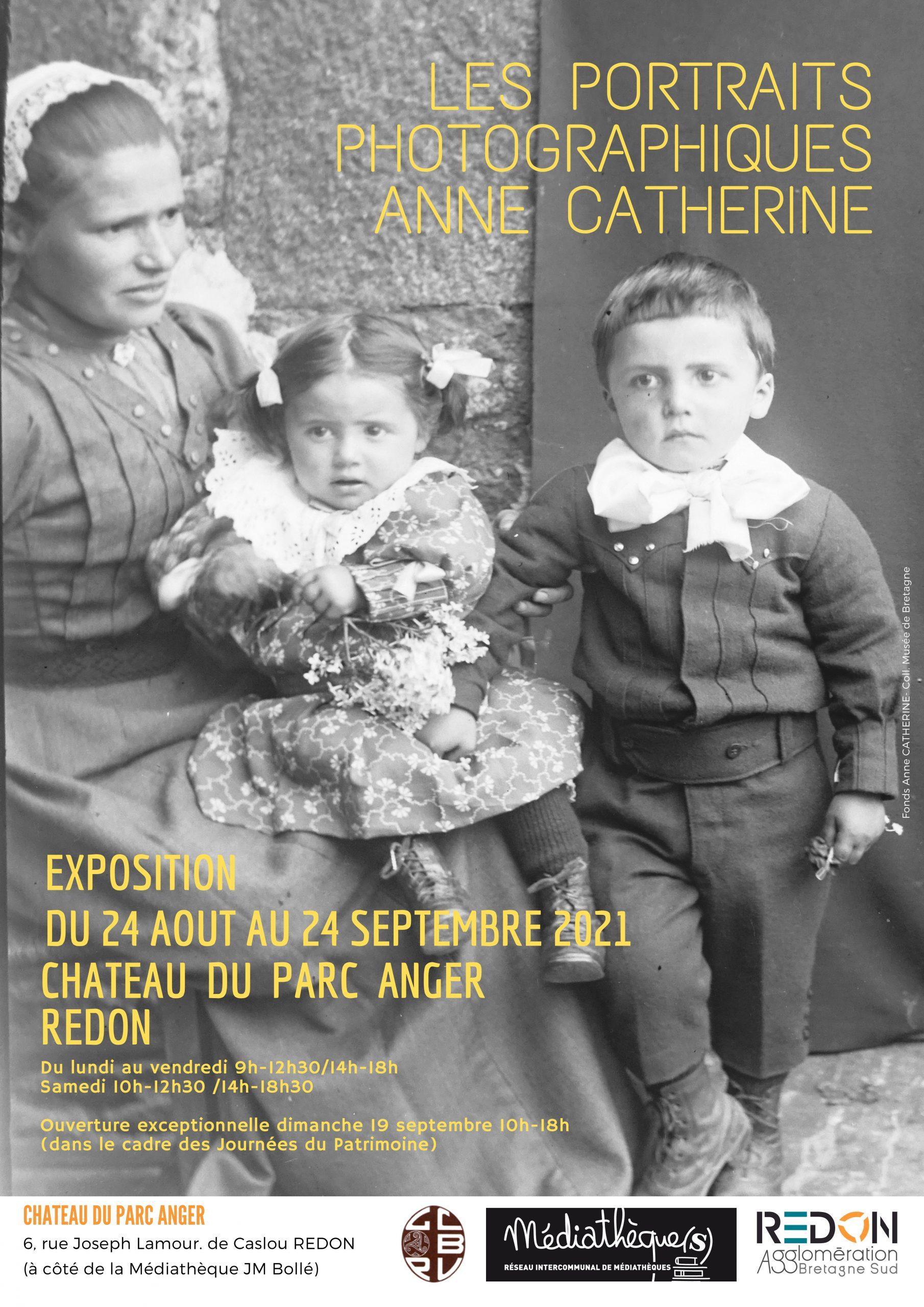 Les portraits photographiques de Anne Catherine