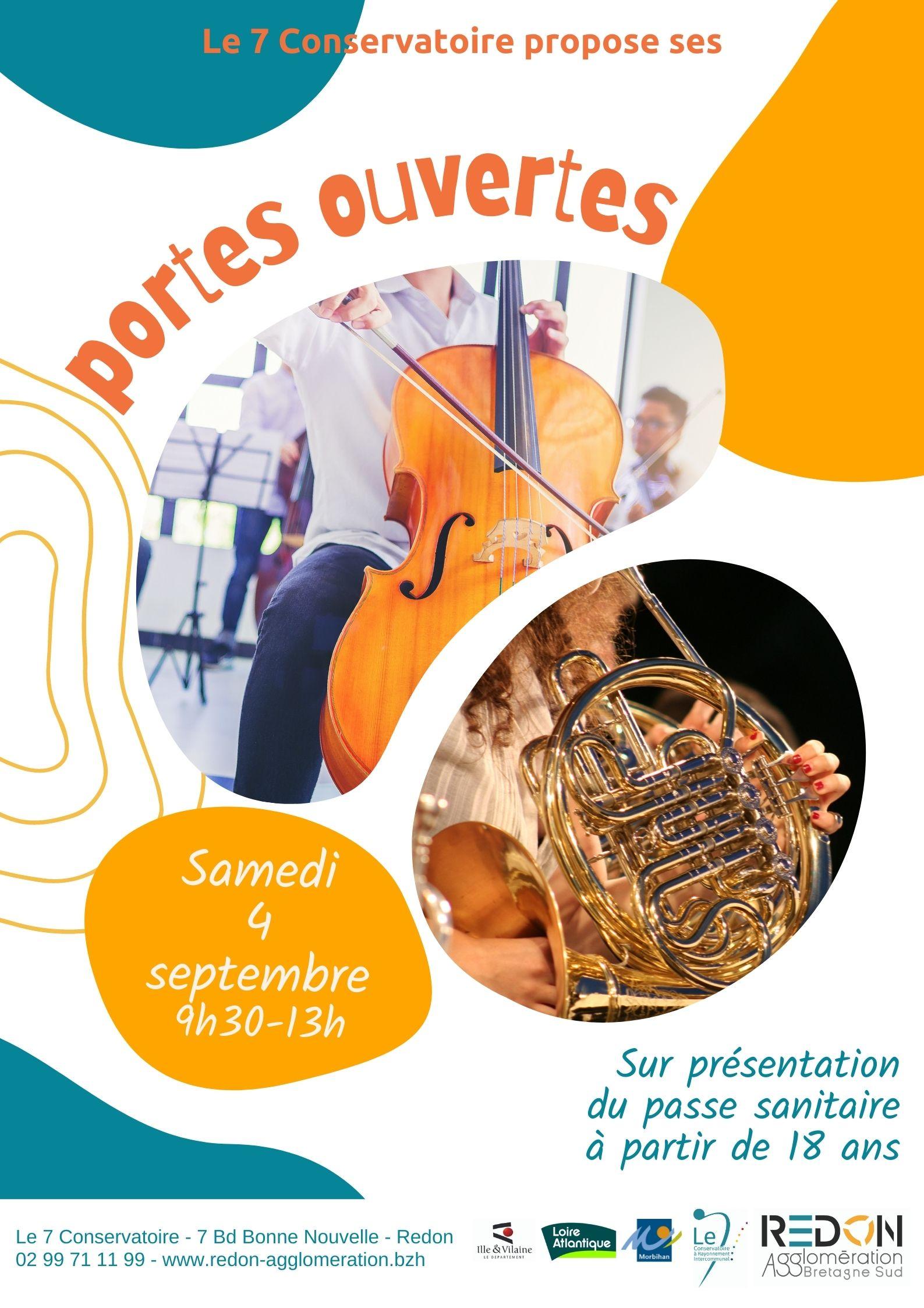 Portes ouvertes Conservatoire de musique