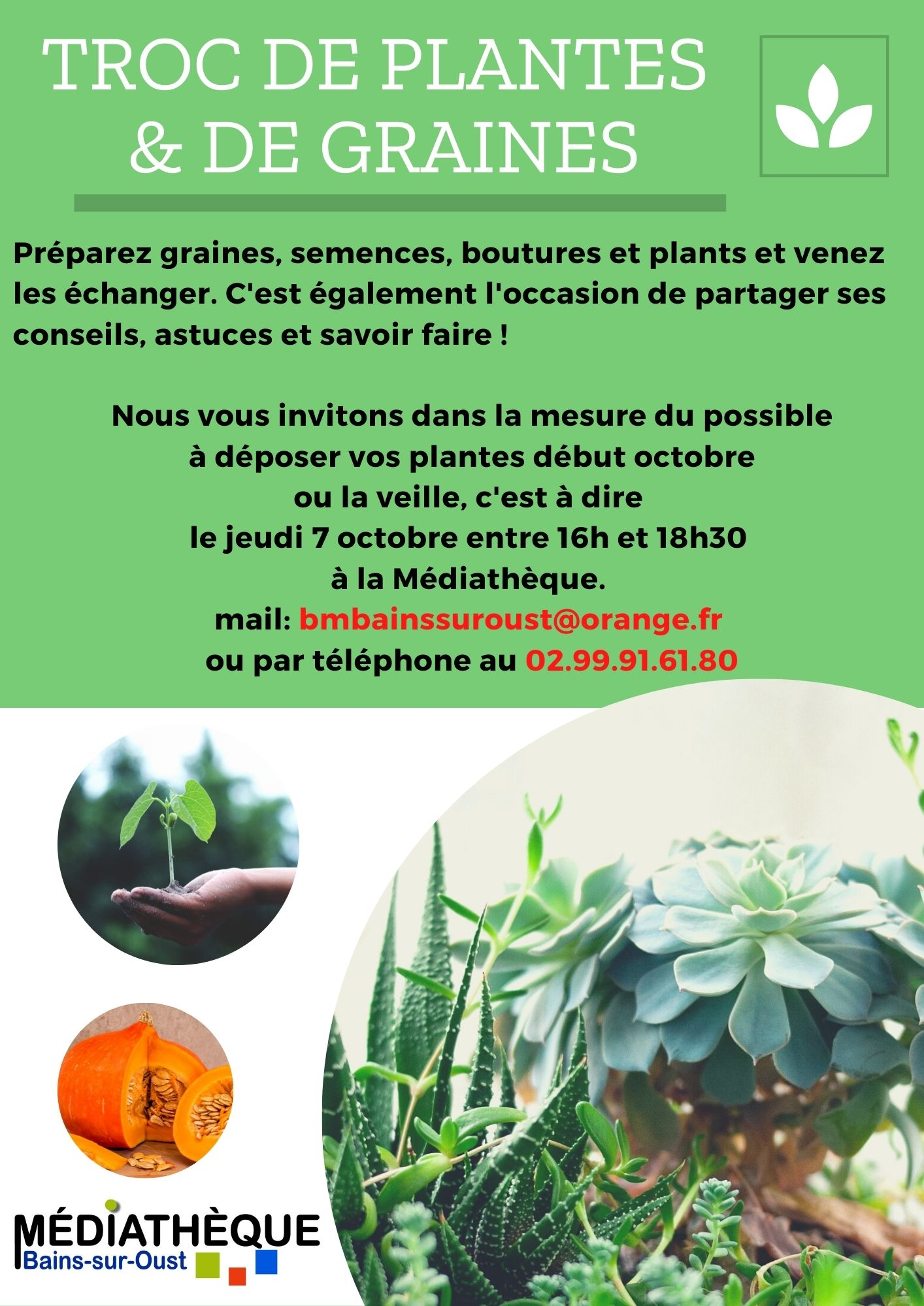 Troc plantes et graines