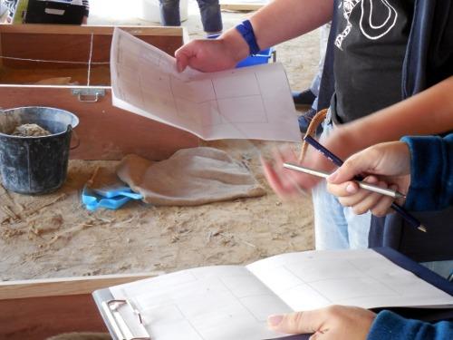 Atelier fouilles archéologiques