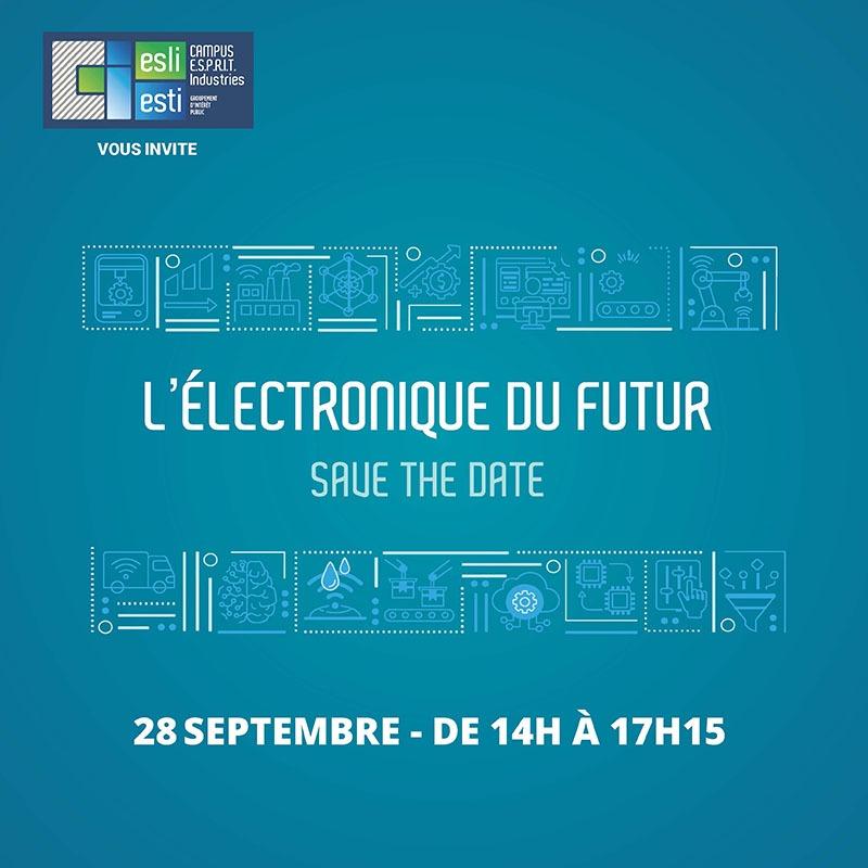 Après-midi Électronique du futur